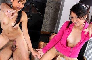 Tami Fabiana and Diana Delgado 2 vs 2